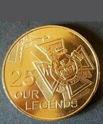Rare 2016 Australian 25 Cent Coins - Our Legends Coin Collectable Edition Unc⭐️
