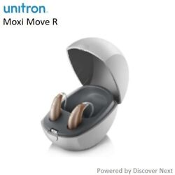 2 Brand New Unitron Discover Next Moxi Move R 9/7/5/3 Hearing Aids