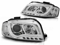 Audi A3 8p Hb Wagon 2003 2004 2005 2006 2007 2008 Lpau97 Headlights Led Tube