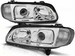 Opel Omega B 1994 1995 1996 1997 1998 1999 Lpop05 Headlights Projector Chrome