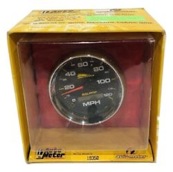 Auto Meter 3-3/4 Pro-cycle Electric Speedometer Black Dial Face / Chrome Bezel