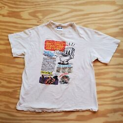 Vintage Robert Crumb T-shirt 80andrsquos Bible Of Filth Tommy Toilet Mr Natural Comic
