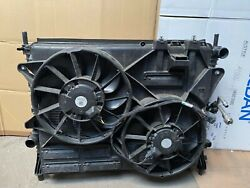 2018 2019 2020 Ford Mustang Gt Radiator Condenser Fan Complete