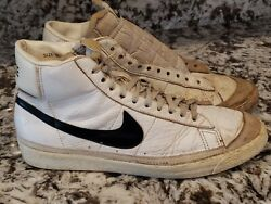 Vintage Nike High Top Black And White Size 11 Republic Of Korea Collectable Rare