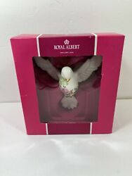 Royal Albert Dove Of Peace Ornament Old Country Roses With Box