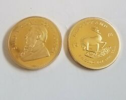 1oz Krugerrand 24ct Gold Plated Coin Bullion - 1978 Christmas Xmas Gifts