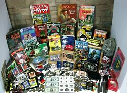 Huge Vintage Junk Drawer Lot Jewelry Gold And Silver Coins Estate Bullion Toys Old