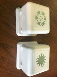 Martha Stewart All Over The Page Snowflake Magnetic Crafts Paper Punch Flower