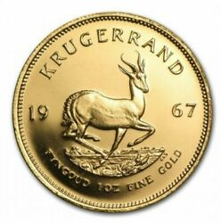 1oz Krugerrand 24ct Gold Plated Coin Bullion Various Years Christmas Xmas Gifts