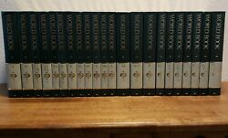 World Book Encyclopedia 1993 Complete Set + 6 Year Books Gilt Spine And Top Edge