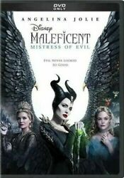 Maleficent: Mistress of Evil NEW DVD 2020 FAST SHIPPING