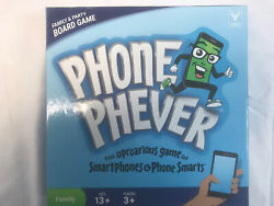 Phone Phever - Family And Party Board Game - Uproaring Game Of Smartphones - 2017