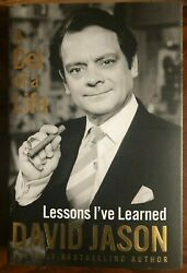 David Jason  Hand Signed  Del Of A Life Hb Book  Only Fools And Horses