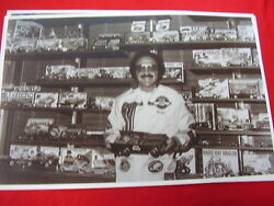 1970 And039s George Barris With Wall Of Model Kits 11 X 17 Photo Picture