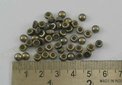 Lot Of 53 Pcs Steampunk Watch Crown For Watch Makers/repair/craft Work M-1838