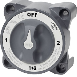 Blue Sea Systems Hd Battery Switch 1-2-off-both W/ Afd