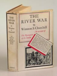 Winston S. Churchill - The River War First U.s. Edition In Dust Jacket 1933