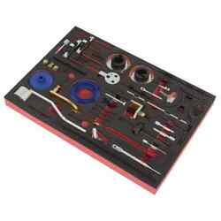 Sealey Diesel And Petrol Master Timing Tool Kit 36pc For Ford 1.0 3.2 Belt Chain