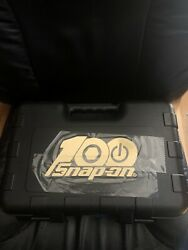 Snap-on Tools Usa Rare Gold 3/8 Drive 100th Anniversary Set 51 Piece Never Used