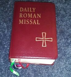 Daily Roman Missal Fourth Edition 1998 Book Bonded Leather