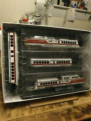 Turbotrain 3car Set+1 Car Pass Amtrakearlydcc Sound 136 Page Book Dc Remote