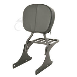 Backrest Sissy Bar Luggage Rack Fit For Harley Heritage Softail Classic 1984-05