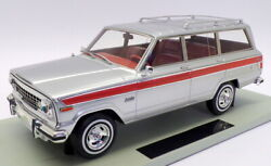 Ls Collectibles 1/18 Scale Ls037g - Jeep Grand Wagoneer Hunter - Silver