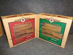 Wings Of Texaco 1935 Spartan Executive Diecast Airplane Regular And Special Set