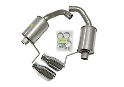 Roush Performance Parts 421837 Axle Back Exhaust Kit 15-16 Mustang V6/i4