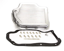 Racing Power Co-packaged R8492 Transmission Pan Turbo 400 Polished Aluminum
