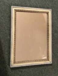 Antique Folk Art Mirror. Purchased Mexico City 1920 But Older. 16 X 22