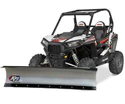 Kfi 48 Inch Utv Snow Plow Package Kit For Mahindra Roxor 2018-2019