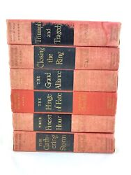 The Second World War By Winston Churchill 6 Vol Set First Editions 1948-53 Wwii