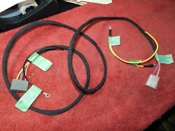 Console Middle Harness Wiring 66-67-68 Coronet/belvedere/charger/roadrunner Auto