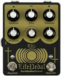 New Earth Quaker Devices Life Pedal V2 Guitar Effector Upper Octave Distortion