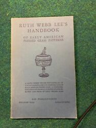 Pocket Size Ruth Webb Lee's Handbook Of Early American Pressed Glass Patterns