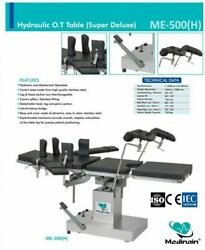 Surgical Ot Table Operation Theater Operating Table Surgical Detachable Me-500 H