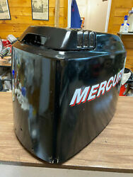 1995 Mercury 115 Hp 2 Stroke Outboard Engine Top Cowl Cover Hood Freshwater Mn