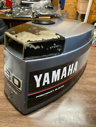 1988 Yamaha 30 Hp 3 Cyl 2 Stroke Outboard Hood Top Cowl Cover Freshwater Mn