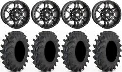 Sti Hd7 14 Wheels Smoke 30 Outback Max Tires Yamaha Viking Wolverine