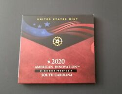 2020 American Innovation Introductory 1 Reverse Proof Coin South Carolina