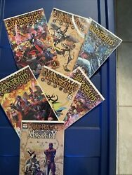 Marvel War Of The Realms 1-6 , Journey Into Mystery 1 Lot/set Vf/f