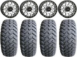 System 3 Sb-3 Machined 15 Wheels 32 Motohammer Tires Can-am Renegade Outlander