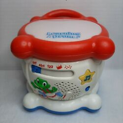 Leap Frog Learning Drum Educational Musical Interactive Lights And Sounds 123 Abc