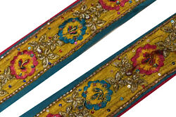 Vintage Border Saree Trim Embroidered Border Traditional Ethnic Lace ST1645