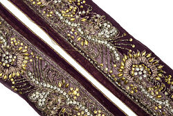 Vintage Border Saree Trim Embroidered Border Traditional Ethnic Lace ST2624