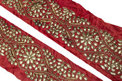 Vintage Border Saree Trim Embroidered Border Traditional Ethnic Lace ST2625