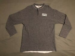 Rare Oop Vintage Ebbets Field Flannels Dual Layer 2 Button Fungo Shirt Size Xl