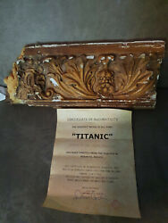 Extremely Rare Titanic 1997 Original Screen Used Piece Of The Movie Ship Prop