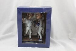 Chicago Cubs Javier Baez Addison Russell Turning Two Sga Bobble Head New A051